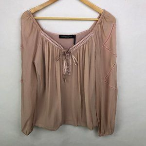 Guess by Marciano Women's Dusty Pink Blouse Size S